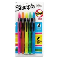 Sharpie Accent Retractable Highlighters | OfficeSupply.com