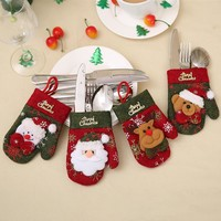 Christmas Holiday Tableware Decorations