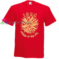 1969 summer of the sun Tshirt gift adult unisex custom clothing Size S-3XL