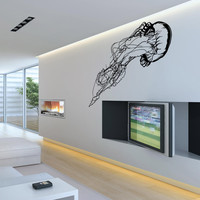 Jellyfish Marine Life Wall Decal.  #OS_MB628
