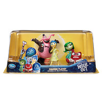 disney store inside out cake topper playset figure 6 pcs new with box