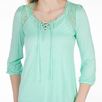 Daytrip Pieced Lace Top - Women's Shirts/Tops   Buckle