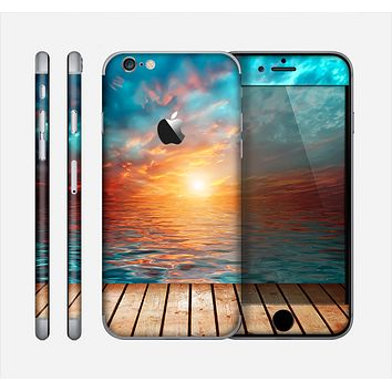 The Paradise Sunset Ocean Dock Skin for the Apple iPhone 6