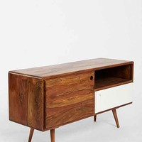 Assembly Home Modern Media Console- Brown One