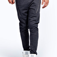 Skinny Joggers with Side Zips