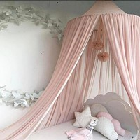Beautiful Chiffon Princes Canopy, Lightweight  Mosquito Net Canopy For Child's Room