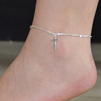 Cupshe Boutique Cross Anklet
