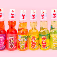 Buy Ramune Japanese Soda Drink - Peach at Tofu Cute