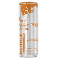 Red Bull Orange Edition Energy Drink 8.4 oz Cans - Case of 24