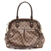 Louis Vuitton Damier Trevi PM Satchel Bag Brown N51997 5339