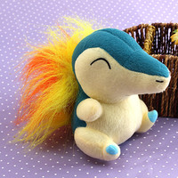 Nintendo Peluche Pokemon Cyndaquil Plush Soft Doll Toy Gift Stuffed Animal Game Collect YHJ15090106