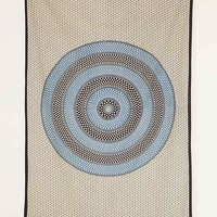 Magical Thinking Rani Pebble Medallion Tapestry- Blue One