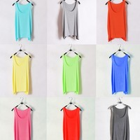 Colorful Basic Tank Top