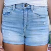 Cocoa Beach Denim Shorts