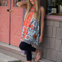 Gonna Be My Favorite Tunic - Coral