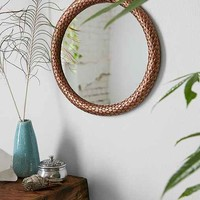 Magical Thinking Metal Snake Eternity Mirror- Copper One