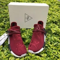 Adidas PW Human Race NMD Wine Red Size 36-46