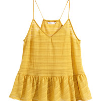 H&M Top with Flounce $17.95