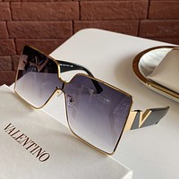 Valentino Fashion Woman Summer Sun Shades Eyeglasses Glasses Sunglasses