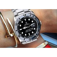 Rolex Ladies Men Fashion Quartz Watches Wrist Watch-8