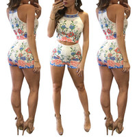 Women Floral Printed Sexy Floral Printed Nightclub Clubbing Party Erotic _ 12000