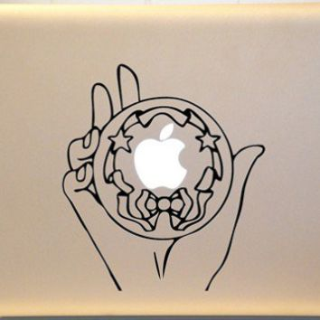 Sailor Moon Silver Crystal Macbook Decal Vinyl Sticker for Mac Laptop