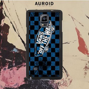 Vans Off The Wall Skate Shoes Samsung Galaxy Note 4 Case Auroid