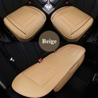 GSPSCN Car Supplies Car Seat Covers Premium Automotive Car Seat Cushion Pu Leather Non Slide Seats Not Moves Car Seat Covers