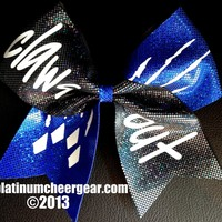 Claws Out Bow - Platinum Cheer Gear