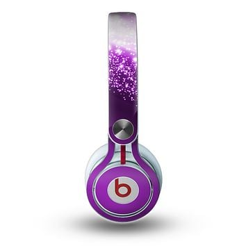 The Shower of Purple Rain Skin for the Beats by Dre Mixr Headphones