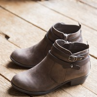 Favorite Bootie Double Strap, Brown
