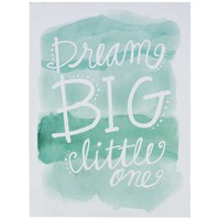 Dream Big Watercolor Wall Plaque | Hobby Lobby | 1131796