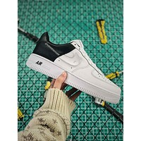 Nike Air Force 1 Low All Star Black White Sport Running Shoes