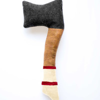 Faster Shipping Lumberjack Baby: White and Red Handle