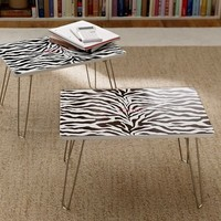 Zebra Flip-Out Lap Desk