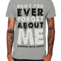 Sleeping With Sirens Forget Me Slim-Fit T-Shirt