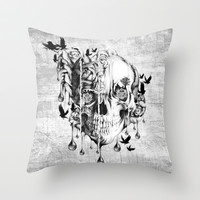 Beneath the Surface Throw Pillow by Kristy Patterson Design