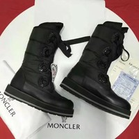 Moncler Women Fashion Casual Half Boots Flats Shoes-2