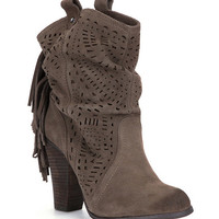 Naughty Monkey Love Lace Slouch Booties | Dillards