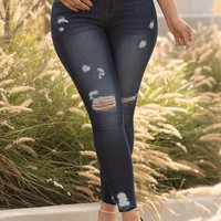 Yvette Distressed Jeans