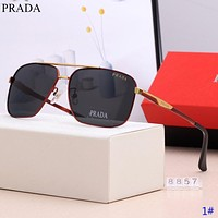 Prada Fashion New Polarized Men Sunscreen Travel Leisure Glasses Eyeglasses 1#