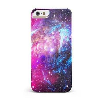 Bright Trippy Space iPhone 5/5S/SE INK-Fuzed Case