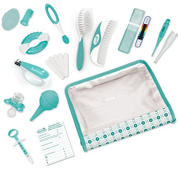 Newborn Baby Infant Complete Nursery Care Safety Health Grooming Kit
