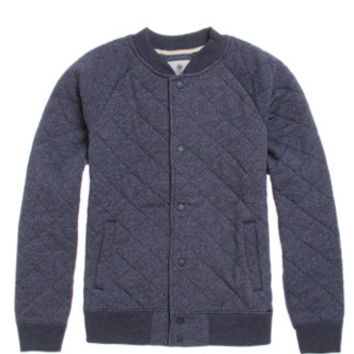 On The Byas Rally Quilted Varsity Jacket at PacSun.com