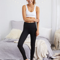 Aerie Chill Shine Legging, True Black