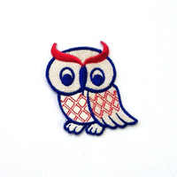 Owl Patch/Iron on Patch