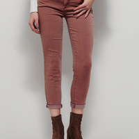 Free People Rolled Crop Skinny