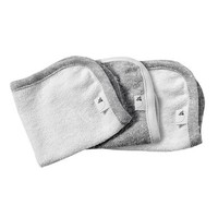 Burt's Bees Baby 3-Pack Organic Cotton Washcloths in Grey