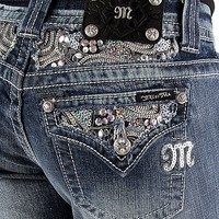 Miss Me Flap Pocket Easy Boot Stretch Jean