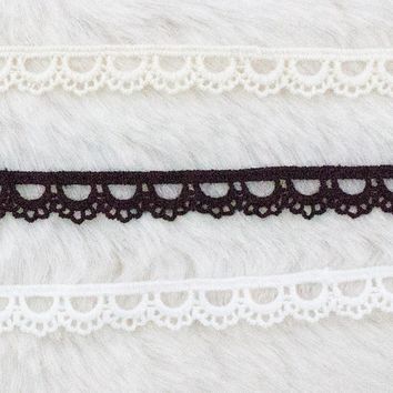 Simple Lace Chokers